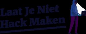 Laat je niet hack maken logo