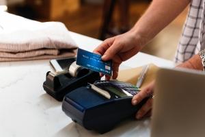 Creditcard en automaat